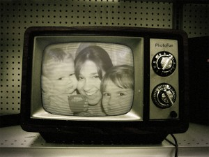 Ack!  We're trapped in a TV!  In 1965!